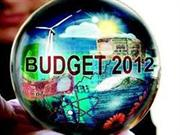 UNION BUDGET 2012-13