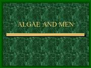 ALGAE AND MEN