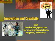 22054563-Innovation-and-Creativity-Ppt