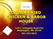 crown kabob