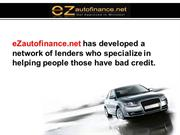 Bad Credit? You can still get an auto loan easily!