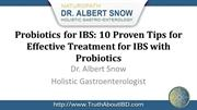 Probiotics for IBS: 10 Proven Tips for Effective Treatment for IBS