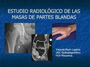 Radiologia de las masas de partes blandas
