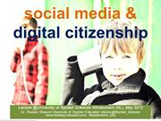 Social Media & Digital Citizenship