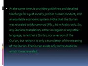 WHAT IS THE QUR'AN ABOUT 2