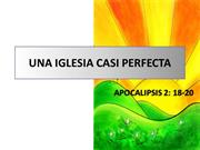 UNA IGLESIA CASI PERFECTA