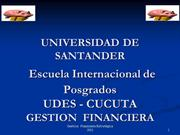UDES 2012 GESTION FINANCIERA