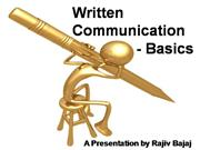Written Communication Basics