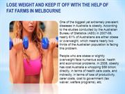 Lose Weight and Keep it Off with the Help of Fat Farms in Melbourne- o
