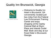 Brunswick Georgia Airport Hotels, Hotels in Brunswick