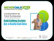 Cold Calling Scripts Are A Really Bad Idea