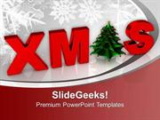 CHRISTIAN CHRISTMAS CONCEPT WINTER BACKGROUND PPT TEMPLATE