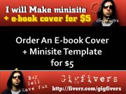 Buy an Ebook Cover And Minisite Template For Cheapest