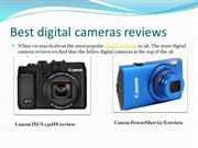 Best digital cameras reviews