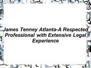 James Tenney Atlanta
