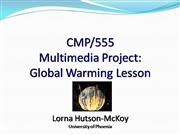 UoP Multimedia Project--Global Warming l...