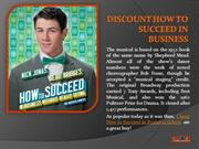 How to Succeed Tickets