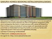 Sakura Homes Booking Details@9266158585