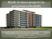 Ready to move property in gurgaon@9266158585