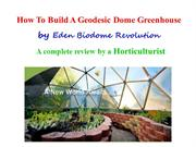 biodome video ppt May 07