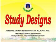 Study Designs upload optimized
