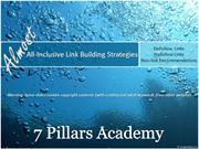 All-inclusive Link Building Strategies -SEO Fundamental
