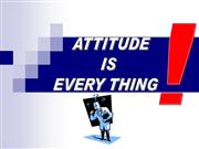attitude is important