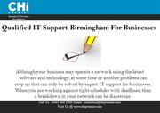 Qualified IT Support Birmingham For Businesses