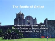 The Battle of Goliad