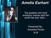 Presentation on Amelia Earhart