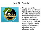 Kenya Safari Holiday Packages