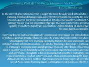 Learning portals the perfect answer for changing education setup