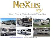 Used Class A RVs