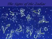 The Signs of the Zodiac