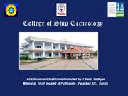 College of Ship Technology - PP show