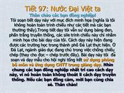 tiet 97 NUOC DAI VIET TA Truyen thong vahien dai VN8