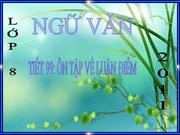 Tiet 99 On tap ve luan diem NV8