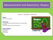 Measurement and Geometry