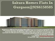 Sakura Homes Flats In Gurgaon@9266158585