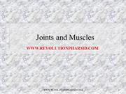 Joints and Muscles