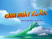 Tiet 28 CANH NGAY XUAN