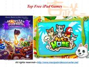 Top Free iPad Games
