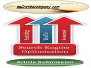 best Article Submission Service
