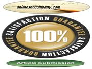 top Article Submission Service