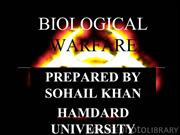 BIOLOGICAL WARFARE special