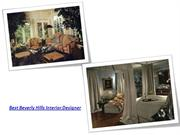 Best Beverly Hills Interior Designer