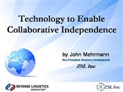 Technology to Enable Collaboration