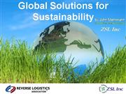 Global Solutions for Sustainability