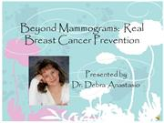Beyond Mammograms Seminar Sample