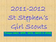 2011-2012 Girl Scout Year